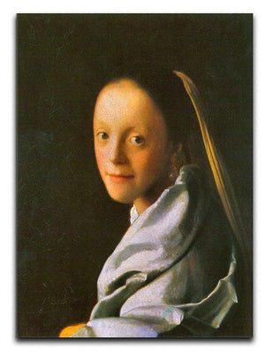 Maid by Vermeer Canvas Print or Poster - Canvas Art Rocks - 1