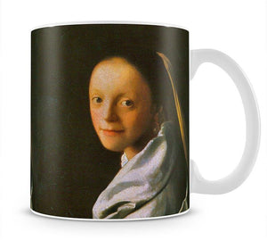 Maid by Vermeer Mug - Canvas Art Rocks - 1