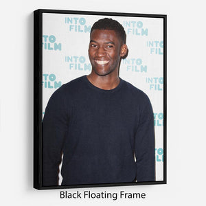 Malachi Kirby Floating Frame Canvas - Canvas Art Rocks - 1