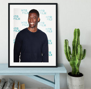 Malachi Kirby Framed Print - Canvas Art Rocks - 1