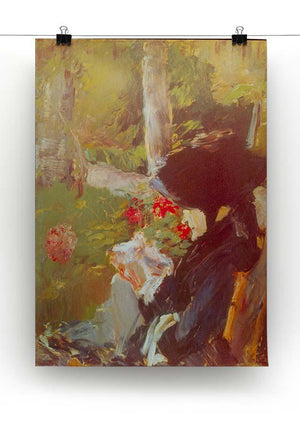 Manets Mother by Manet Canvas Print or Poster - Canvas Art Rocks - 2