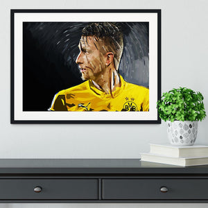 Marco Reus Framed Print - Canvas Art Rocks - 1