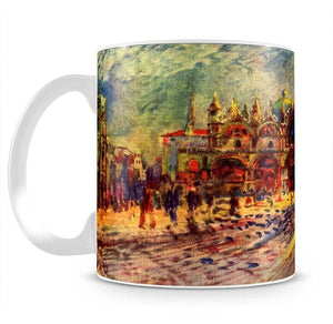 Marcus place in Venice by Renoir Mug - Canvas Art Rocks - 2