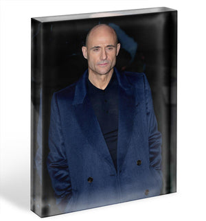 Mark Strong Acrylic Block - Canvas Art Rocks - 1