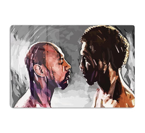 Marvin Hagler v Thomas Hearns HD Metal Print