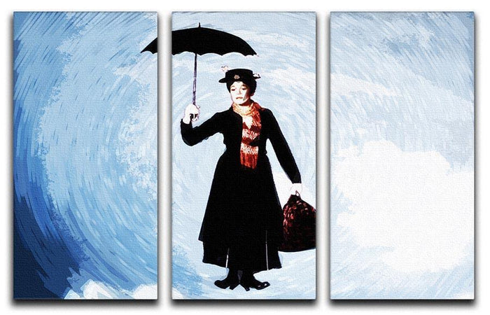 Mary Poppins 3 Split Panel Canvas Print