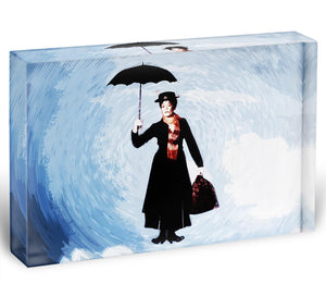 Mary Poppins Acrylic Block - Canvas Art Rocks - 1
