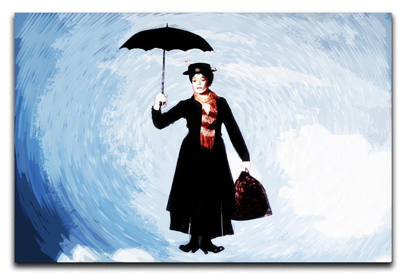 Mary Poppins Print - Canvas Art Rocks - 1