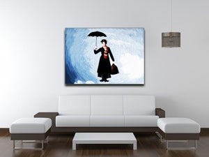 Mary Poppins Print - Canvas Art Rocks - 4