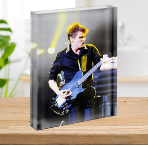 Matt Bellamy Muse Acrylic Block - Canvas Art Rocks - 2