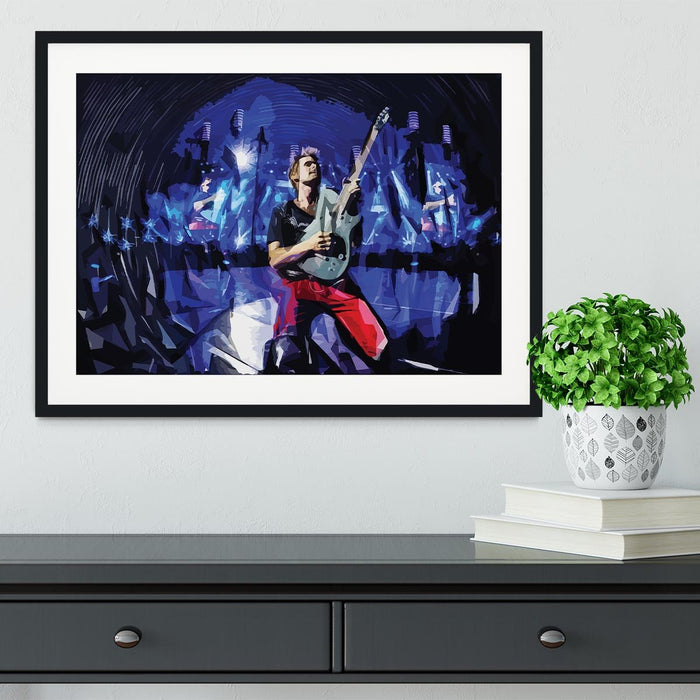 Matt Bellamy from Muse Framed Print