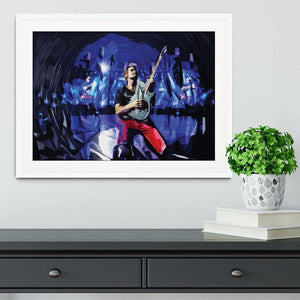 Matt Bellamy from Muse Framed Print - Canvas Art Rocks - 5