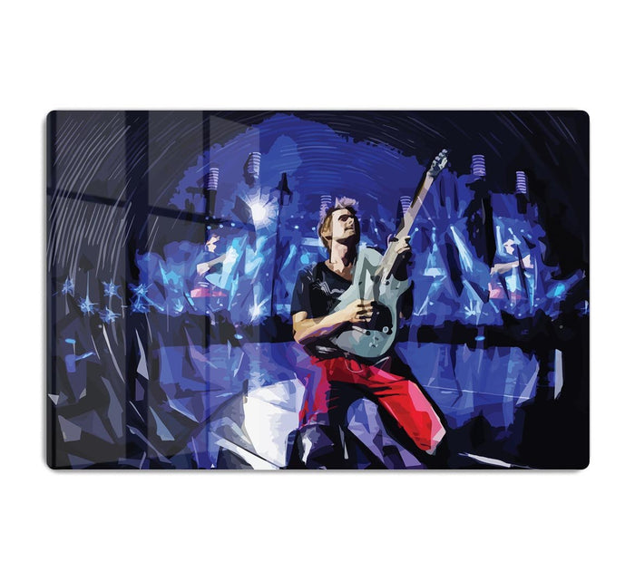 Matt Bellamy from Muse HD Metal Print