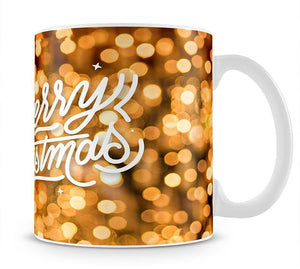 Merry Christmas Glitter Mug - Canvas Art Rocks - 1