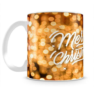 Merry Christmas Glitter Mug - Canvas Art Rocks - 2