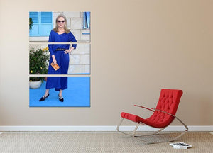 Meryl Streep Mamma Mia 3 Split Panel Canvas Print - Canvas Art Rocks - 2