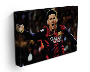 Messi Goal Celebration Canvas Print or Poster - Canvas Art Rocks - 3