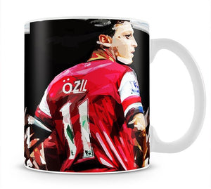 Mesut Ozil Mug - Canvas Art Rocks - 1