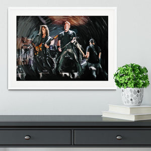 Metallica Live Framed Print - Canvas Art Rocks - 5
