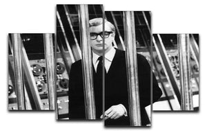 Michael Caine 1967 4 Split Panel Canvas  - Canvas Art Rocks - 1