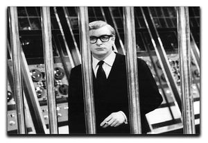 Michael Caine 1967 Canvas Print or Poster  - Canvas Art Rocks - 1