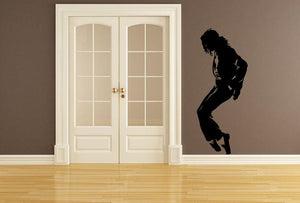 Michael Jackson Wall Sticker - Canvas Art Rocks