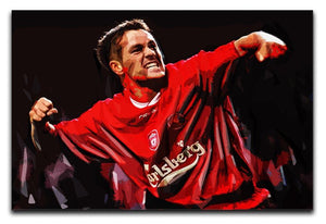 Michael Owen Liverpool Print - Canvas Art Rocks - 1
