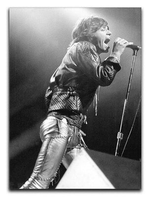 Mick Jagger 1973 Canvas Print or Poster  - Canvas Art Rocks - 1