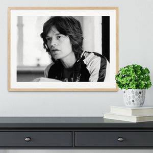 Mick Jagger back home Framed Print - Canvas Art Rocks - 3