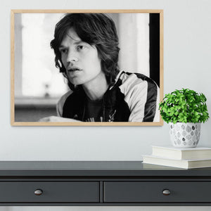 Mick Jagger back home Framed Print - Canvas Art Rocks - 4