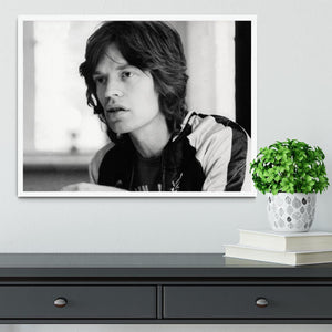 Mick Jagger back home Framed Print - Canvas Art Rocks -6