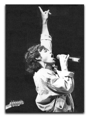 Mick Jagger in Glasgow Scotland Canvas Print or Poster  - Canvas Art Rocks - 1