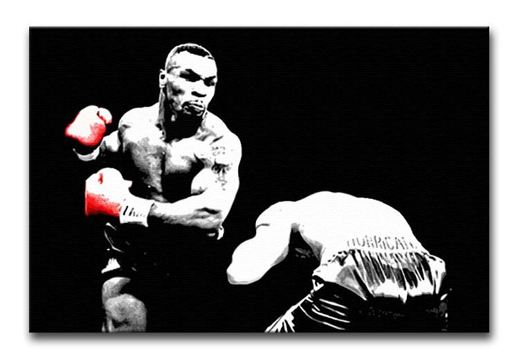 Mike Tyson Knockout Print - Canvas Art Rocks