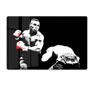 Mike Tyson Knockout HD Metal Print