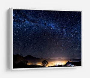 Milky Way over the Elqui Valley HD Metal Print