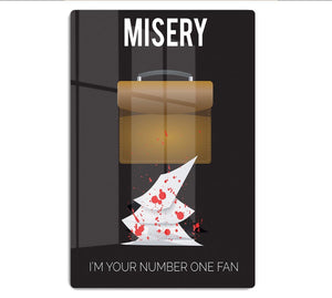Misery Im Your Number One Fan Minimal Movie HD Metal Print