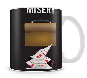 Misery Im Your Number One Fan Minimal Movie Mug - Canvas Art Rocks - 1
