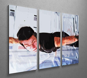 Mission Impossible Close Call 3 Split Panel Canvas Print - Canvas Art Rocks - 2