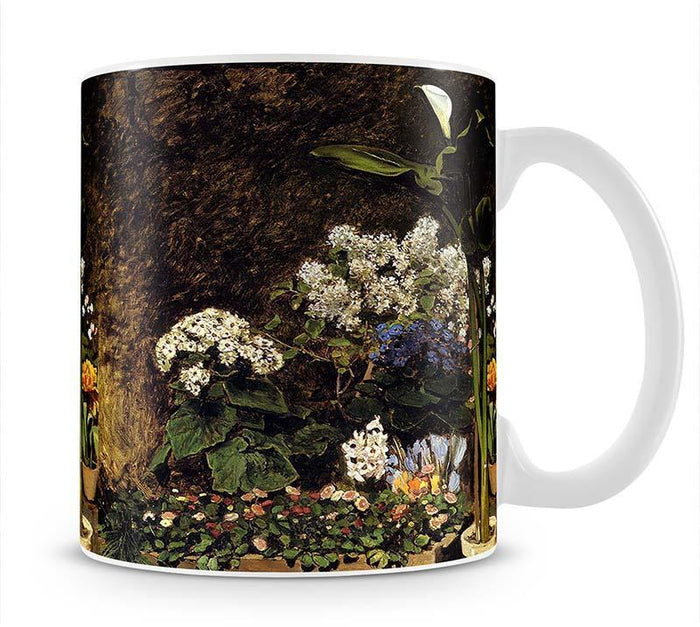 Mixed Spring Flowers by Renoir Mug