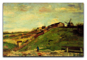 Montmartre Quarry the Mills by Van Gogh Canvas Print & Poster  - Canvas Art Rocks - 1