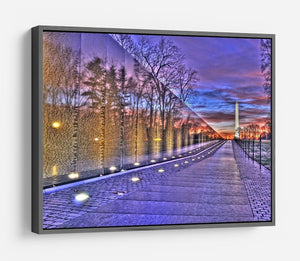 Monument at sunrise HD Metal Print