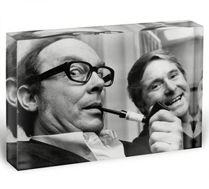 Morecambe and Wise in the 70s Acrylic Block - Canvas Art Rocks - 1