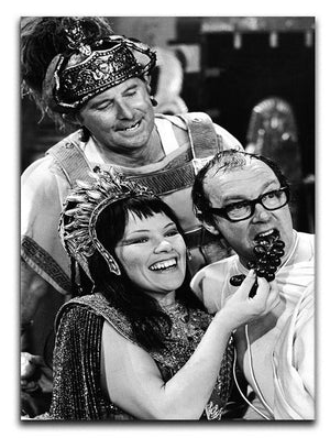 Morecambe and Wise with Glenda Jackson Canvas Print or Poster  - Canvas Art Rocks - 1