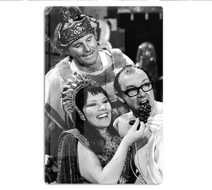 Morecambe and Wise with Glenda Jackson HD Metal Print