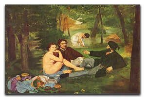 Morning Break by Manet Canvas Print or Poster  - Canvas Art Rocks - 1