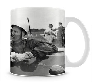 Motor racing driver Stirling Moss Mug - Canvas Art Rocks - 1