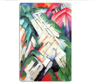 Mountains Landscape by Franz Marc HD Metal Print