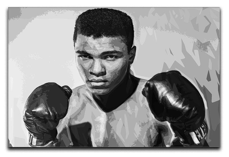 Muhammad Ali Canvas Print or Poster  - Canvas Art Rocks - 1