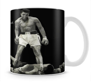 Muhammad Ali Dream Of Beating Me Mug - Canvas Art Rocks - 1