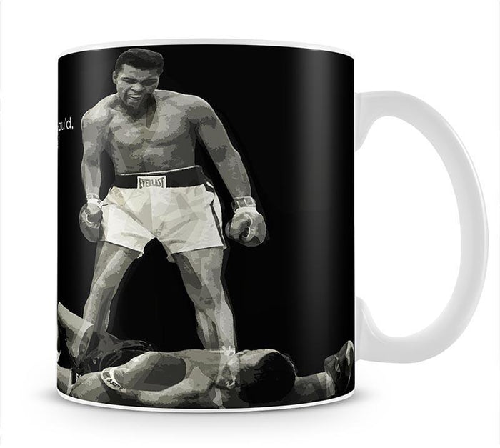 Muhammad Ali Dream Of Beating Me Mug
